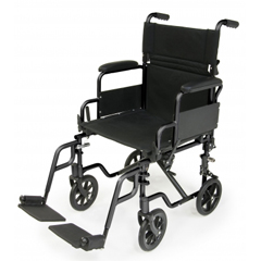 GHIEJNAV-18BK - GF Health - E&J Navigator Transport Wheelchair