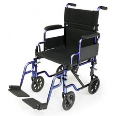 GHIEJNAV-18BL - GF Health - E&J Navigator Transport Wheelchair