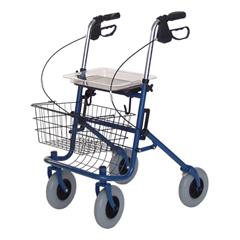 GHIRJ4200A - GF HealthDeluxe Four Wheeled Rollator