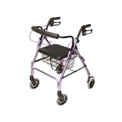 GHIRJ4300L - GF HealthLumex® Walkabout Lite Four-Wheel Rollator, Lavender