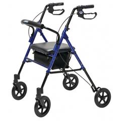 GHIRJ4718B - GF Health - Set n Go Wide Height Adjustable Rollator