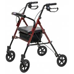 GHIRJ4718R - GF Health - Set n Go Wide Height Adjustable Rollator