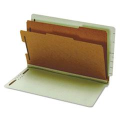 GLW23324 - Globe-Weis® Heavy-Duty Pressboard End Tab Classification Folders