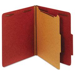 GLW23775 - Globe-Weis® Heavy-Duty Pressboard Top Tab Classification Folders