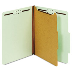 GLW23776 - Globe-Weis® Heavy-Duty Pressboard Top Tab Classification Folders