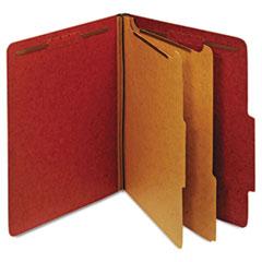 GLW24075 - Globe-Weis® Heavy-Duty Pressboard Top Tab Classification Folders