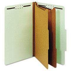 GLW29076 - Globe-Weis® Heavy-Duty Pressboard Top Tab Classification Folders