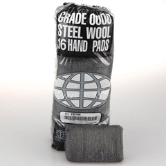 GMT117007 - GMT Industrial-Quality Steel Wool Hand Pads