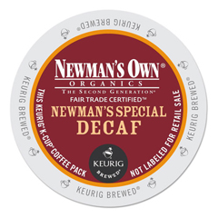 GMT4051CT - Newmans Own Organics Special Decaf Coffee K-Cups