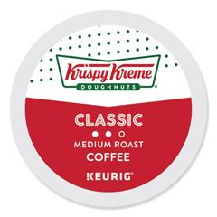 GMT6110 - Krispy Kreme Doughnuts Smooth Coffee K-Cups