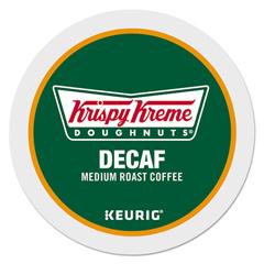 GMT6111 - Krispy Kreme Doughnuts Decaf Coffee K-Cups