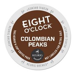 GMT6407 - Eight OClock Coffee Colombian Peaks Coffee K-Cups