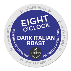GMT6408 - Eight OClock Coffee Dark Italian Roast Coffee K-Cups