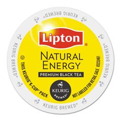 GMT6518 - Lipton Natural Energy Tea K-Cups