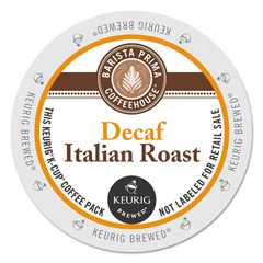 GMT6624 - Barista Prima Coffeehouse Decaf Italian Roast Coffee K-Cups