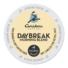 GMT6994 - Caribou Coffee Daybreak Morning Blend Coffee K-Cups