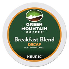 GMT7522 - Green Mountain Coffee Breakfast Blend Decaf Coffee K-Cups