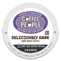 GMT7608 - Deliciously Dark K-Cup, 24/BX