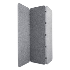 GN1LUCO72701G - Lumeah Concertina Foldable Sound Reducing Room Divider Privacy Screen