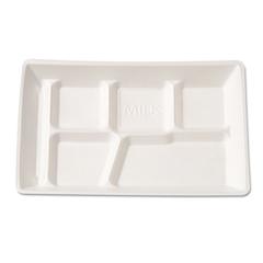 GNP10600WH - Foam School Trays
