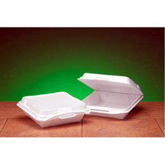 GNP20010 - Foam Hinged Carryout Containers