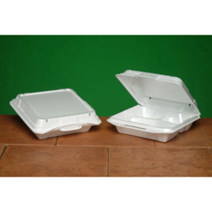 GNP20310V - Foam Hinged Carryout Containers