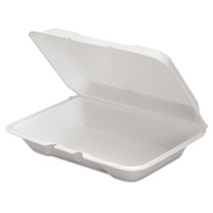 GNP206SS - Genpak Hinged-Lid Foam Carryout Containers