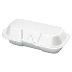 GNP21100 - Foam Hinged Carryout Containers