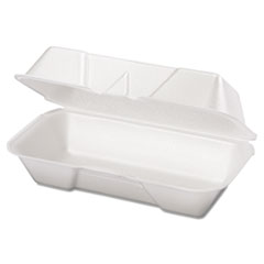 GNP21600 - Foam Hinged Carryout Containers