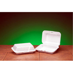 GNP21700 - Foam Hinged Carryout Containers
