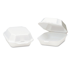 GNP22400 - Foam Hinged Carryout Containers