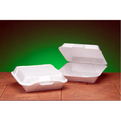 GNP25000 - Foam Hinged Carryout Containers