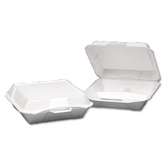 GNP25300 - Foam Hinged Carryout Containers
