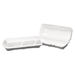 GNP26600 - Foam Hinged Carryout Containers