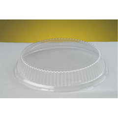 GNP94010 - APET Clear Plastic Lids for Foam and Plastic Dinnerware