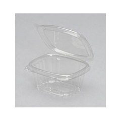 GNPAD06 - Plastic Hinged-Lid Deli Containers