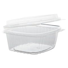 GNPAD12F - Plastic Hinged-Lid Deli Containers