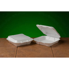 GNPSN100 - Foam Hinged Carryout Containers