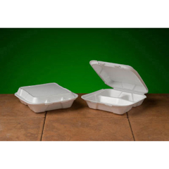 GNPSN103 - Foam Hinged Carryout Containers