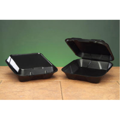GNPSN200-3L - Foam Hinged Carryout Containers