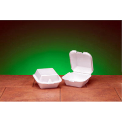 GNPSN225 - Foam Hinged Carryout Containers