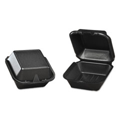 GNPSN2253L - Genpak Snap It™ Hinged-Lid Foam Food Container
