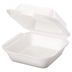 GNPSN227 - Foam Hinged Carryout Containers
