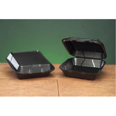 GNPSN240-3L - Foam Hinged Carryout Containers