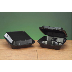 GNPSN243-3L - Foam Hinged Carryout Containers