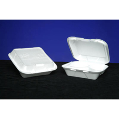 GNPSN243ASIAN - Foam Hinged Carryout Containers