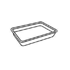 GNPTR08PYL - Supermarket Trays