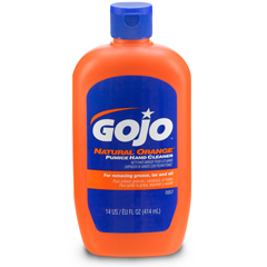 GOJ0957-12 - GOJO® NATURAL* ORANGE™ Pumice Hand Cleaner