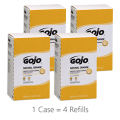 GOJ7250 - GOJO® NATURAL* ORANGE™ Smooth Hand Cleaner