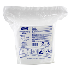 GOJ911502 - PURELL® Hand Sanitizing Wipes